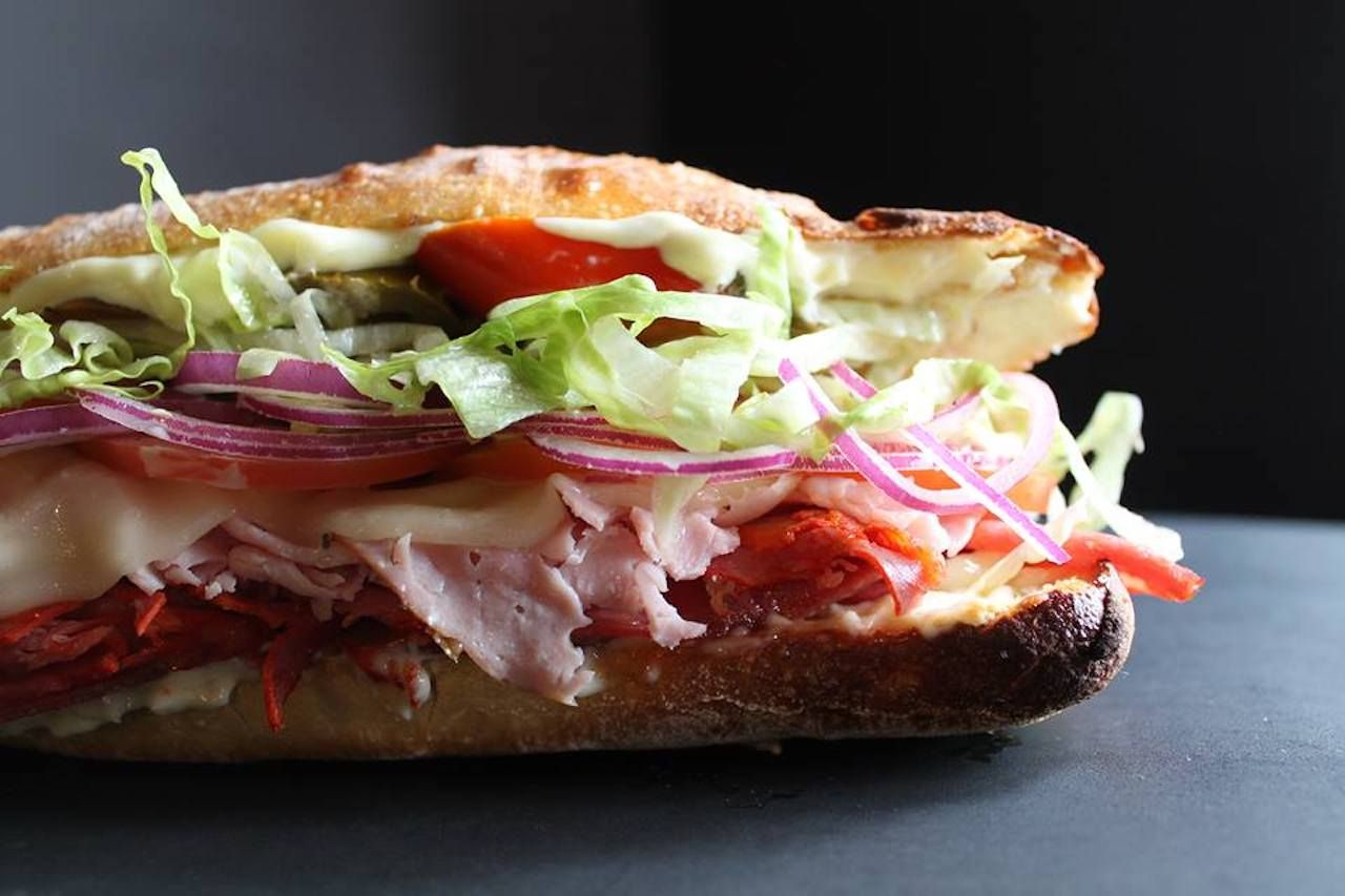 The Eisenhower sub from Secret Sandwich Society