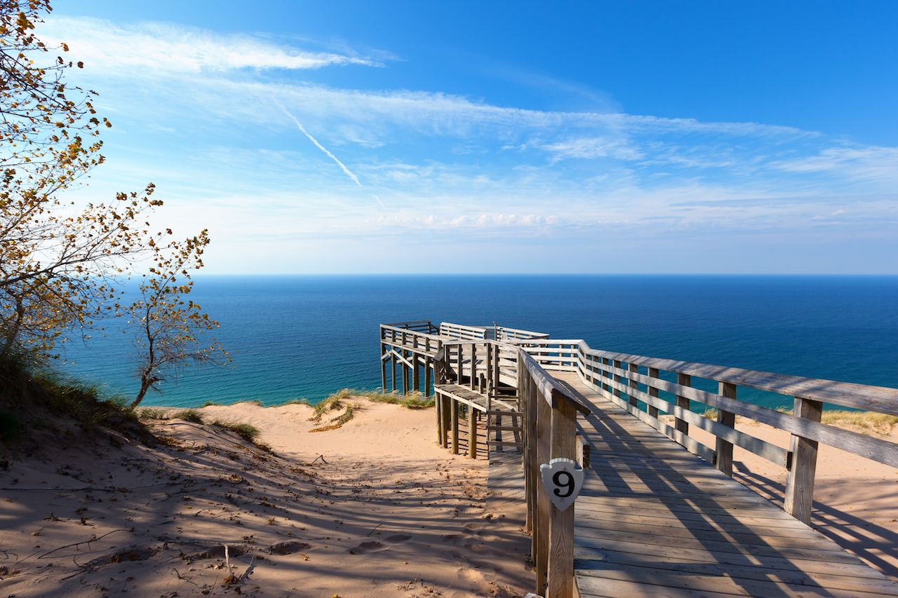 the best beaches in michigan, ohio, and other landlocked states