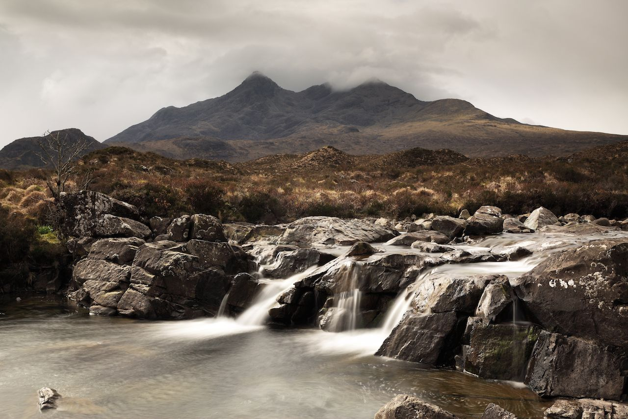Waterfall on Sligachan, Isle of Skye