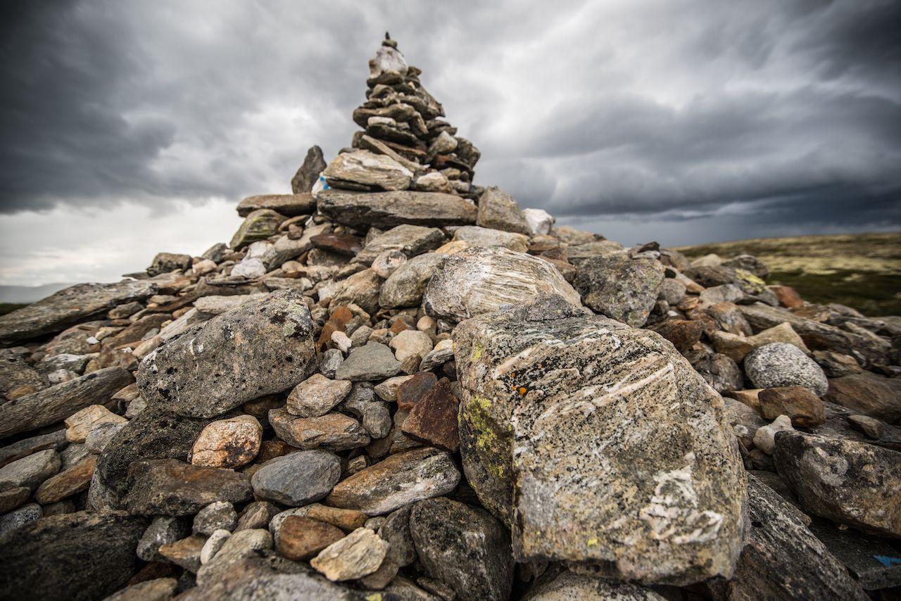 St Olavs Way stones