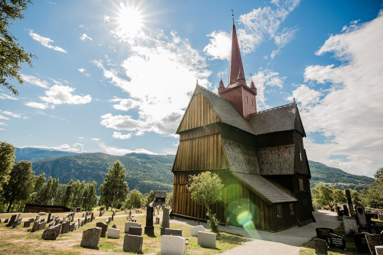 St Olavs Ways stave church