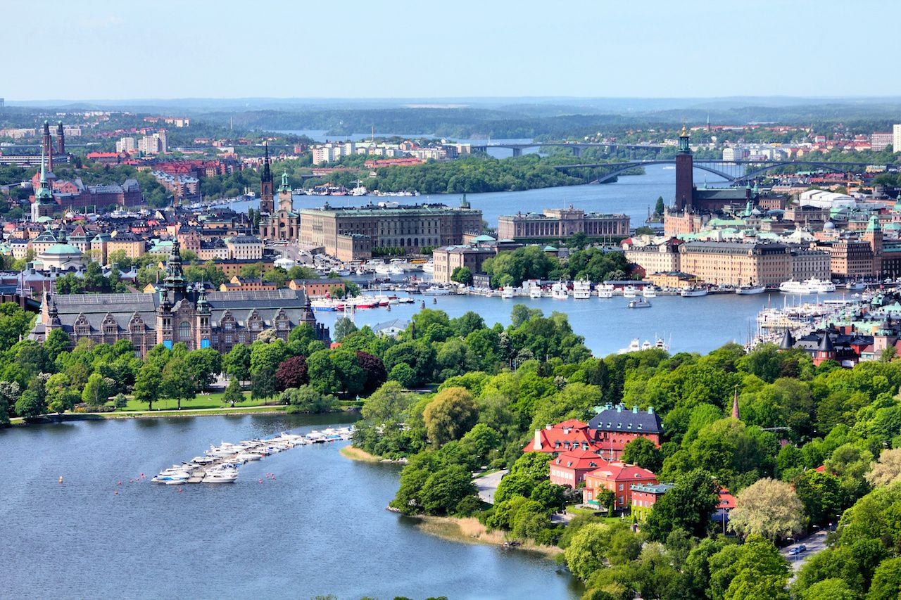 Stockholm canals