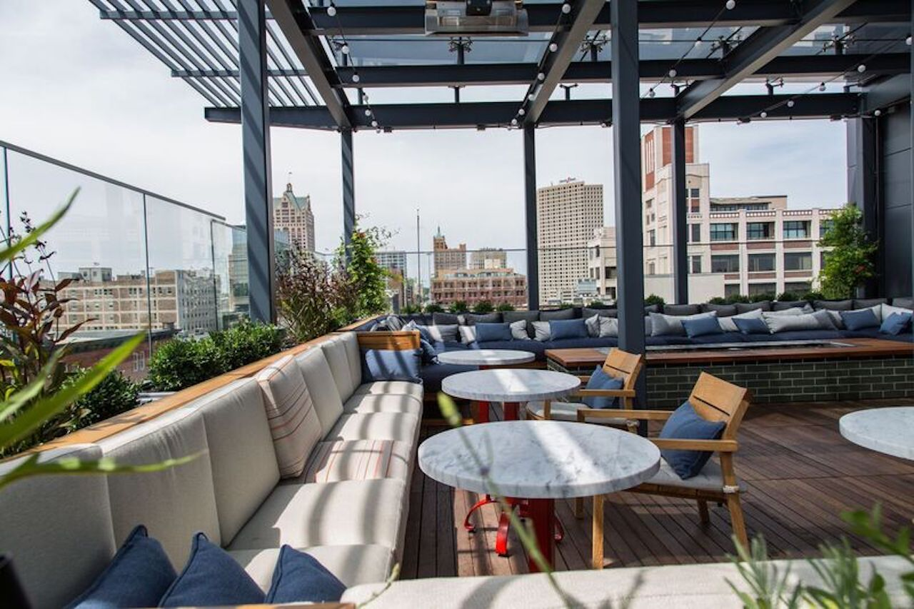 The Outsider rooftop bar
