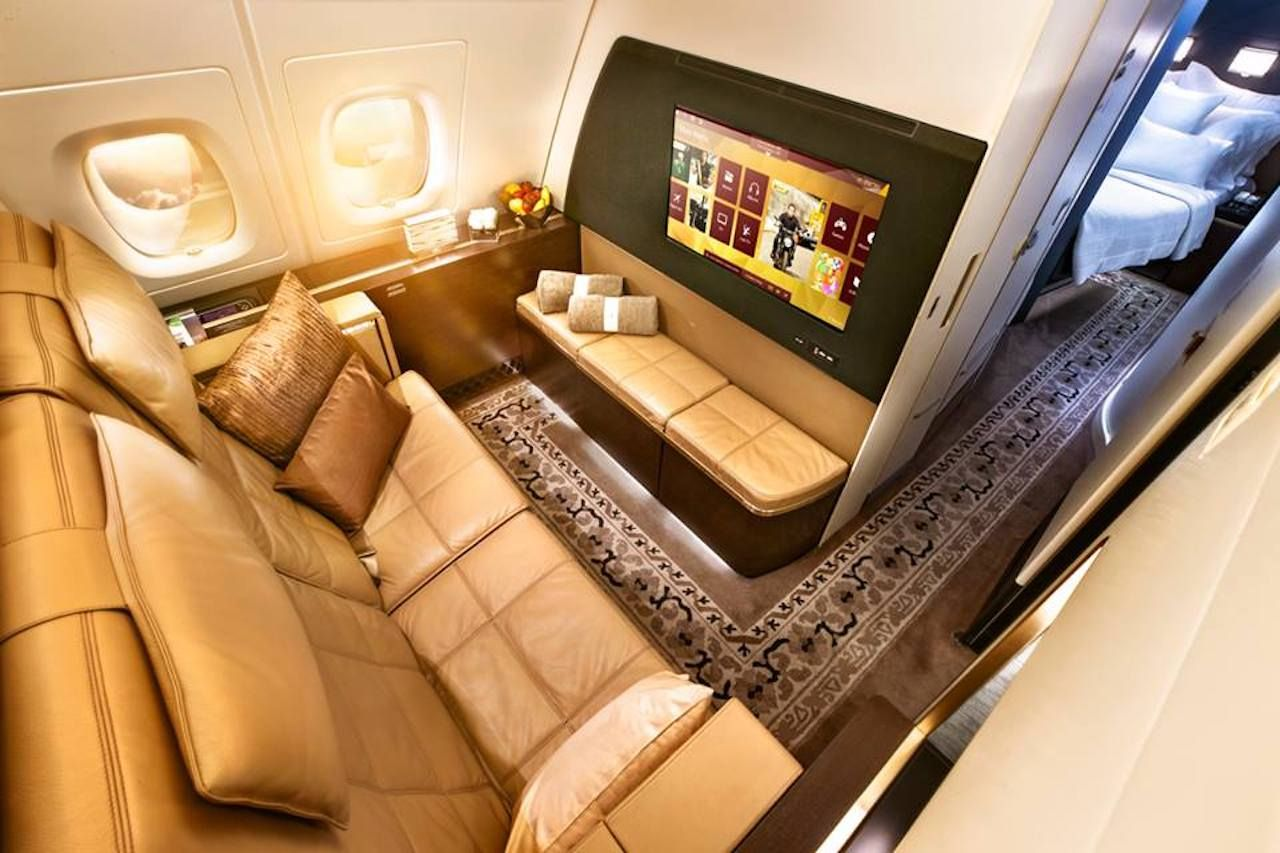 The Residence on Etihad Airways