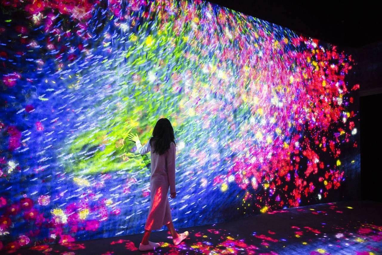 Tokyo s digital art museum is grand