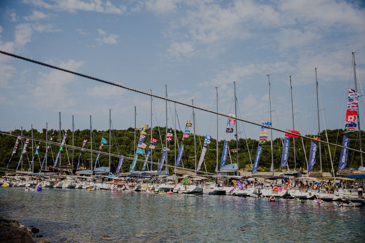 Yacht Week Croatia boats