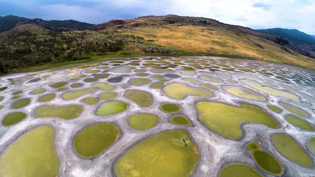 spotted lake thumb clean