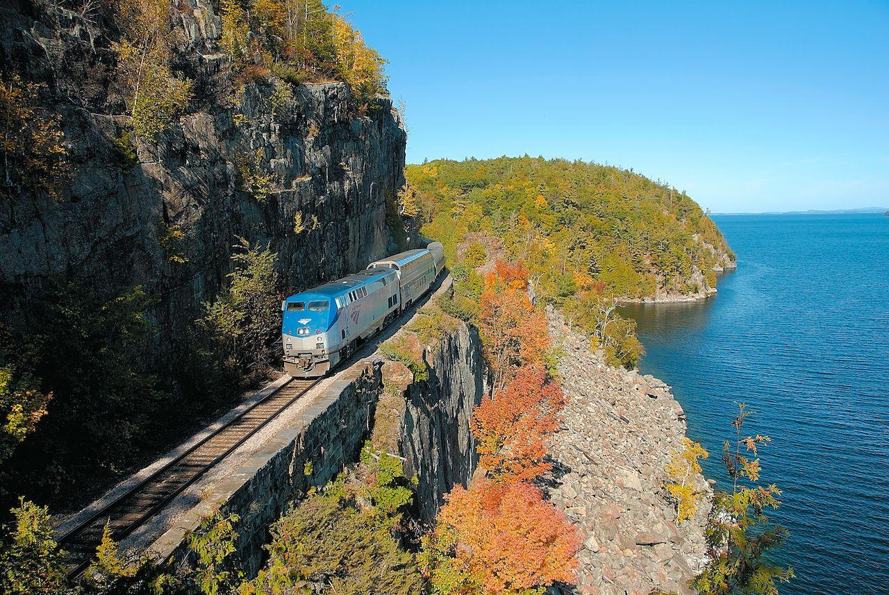 Adirondack scenic train