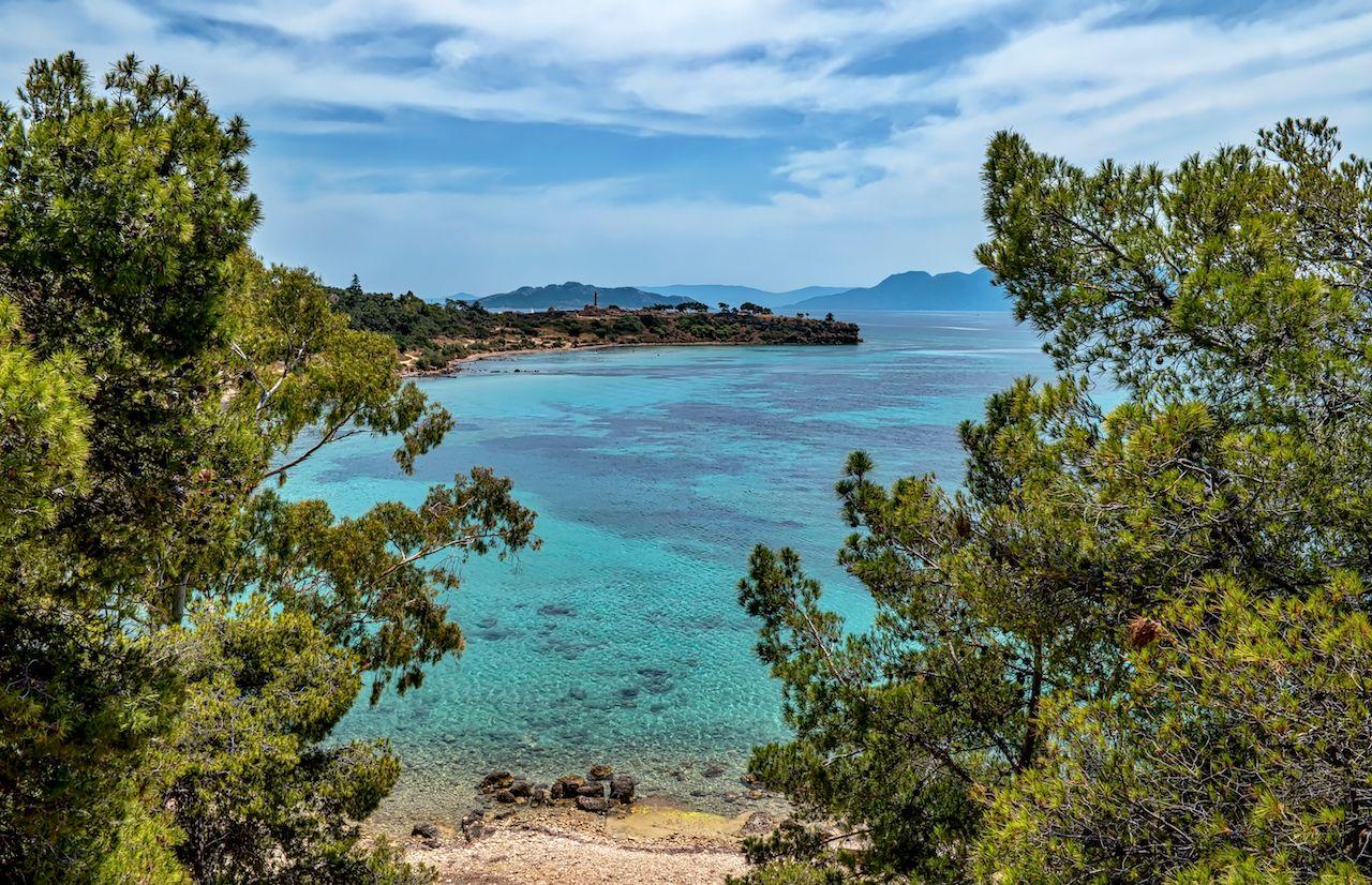 Aegina Island Coast