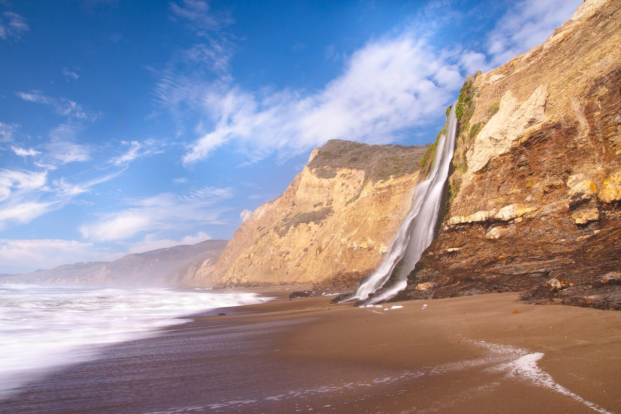 Alamere Falls, Point Reyes National Seashore, California