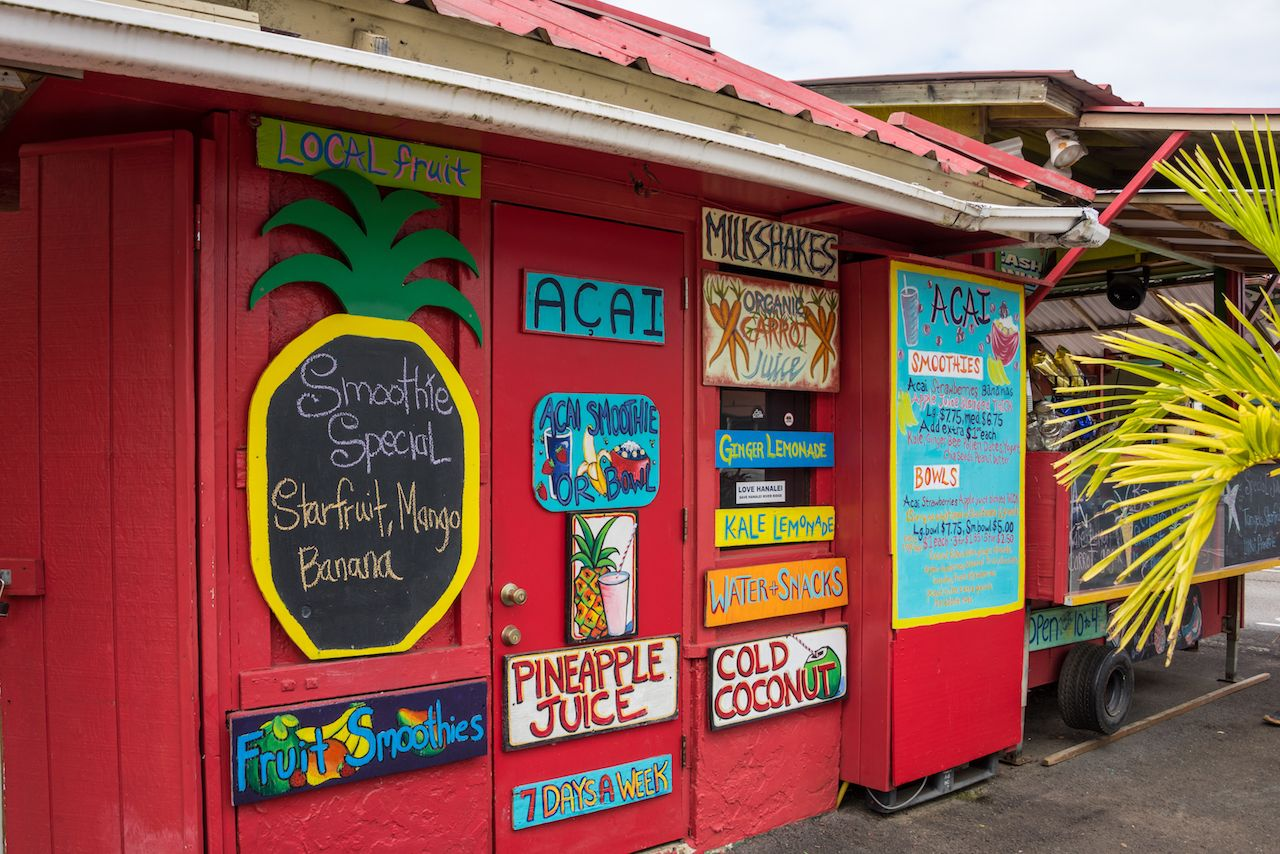 Aloha Juice Bar on Kauai