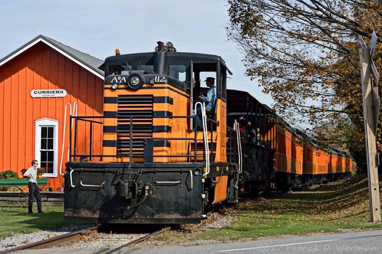 Arcade and Attica Railroad Corporation train