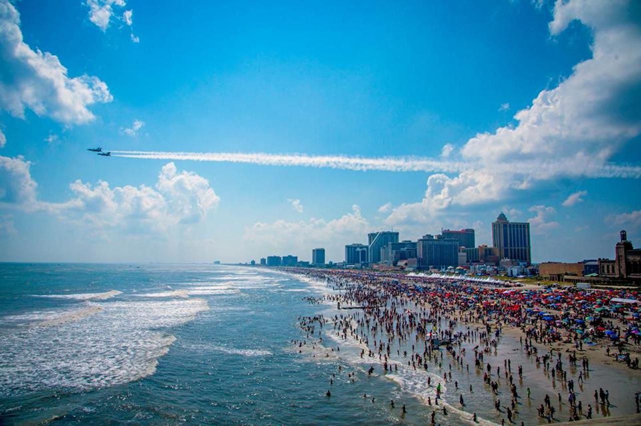 Atlantic City Airshow Thunder Over The Boardwalk