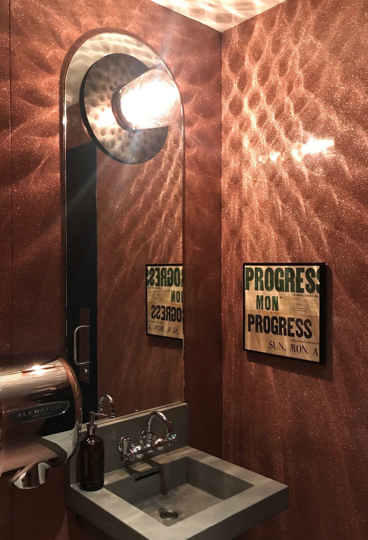 Bathroom in The Progress in California