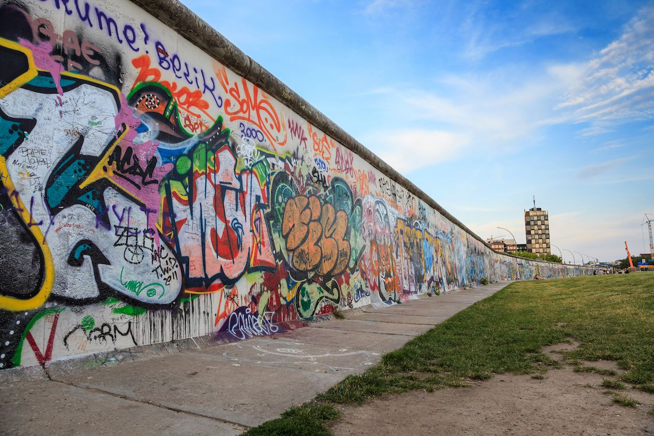 New Berlin Wall section found
