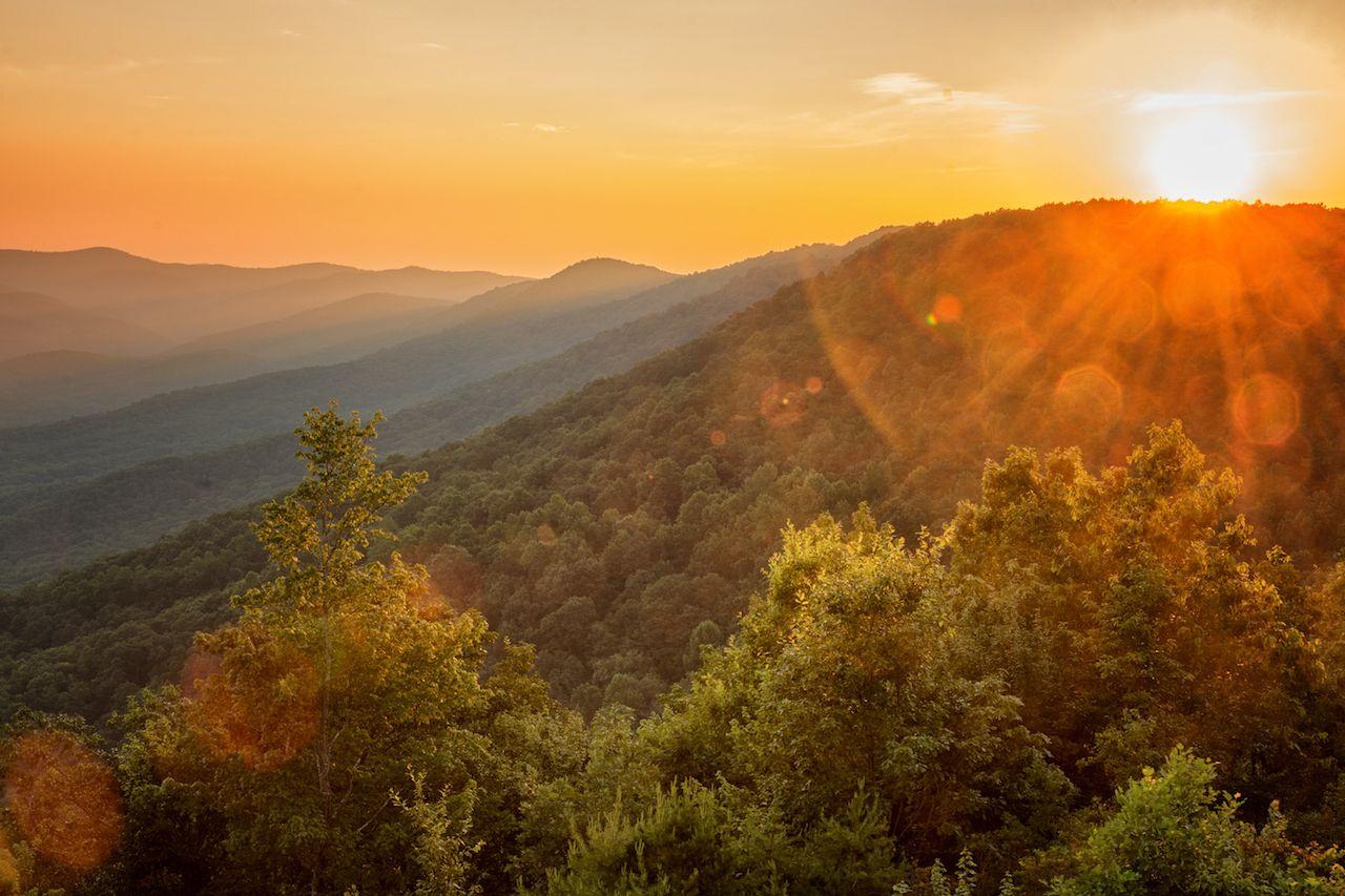Blue Ridge Mountains, Georgia
