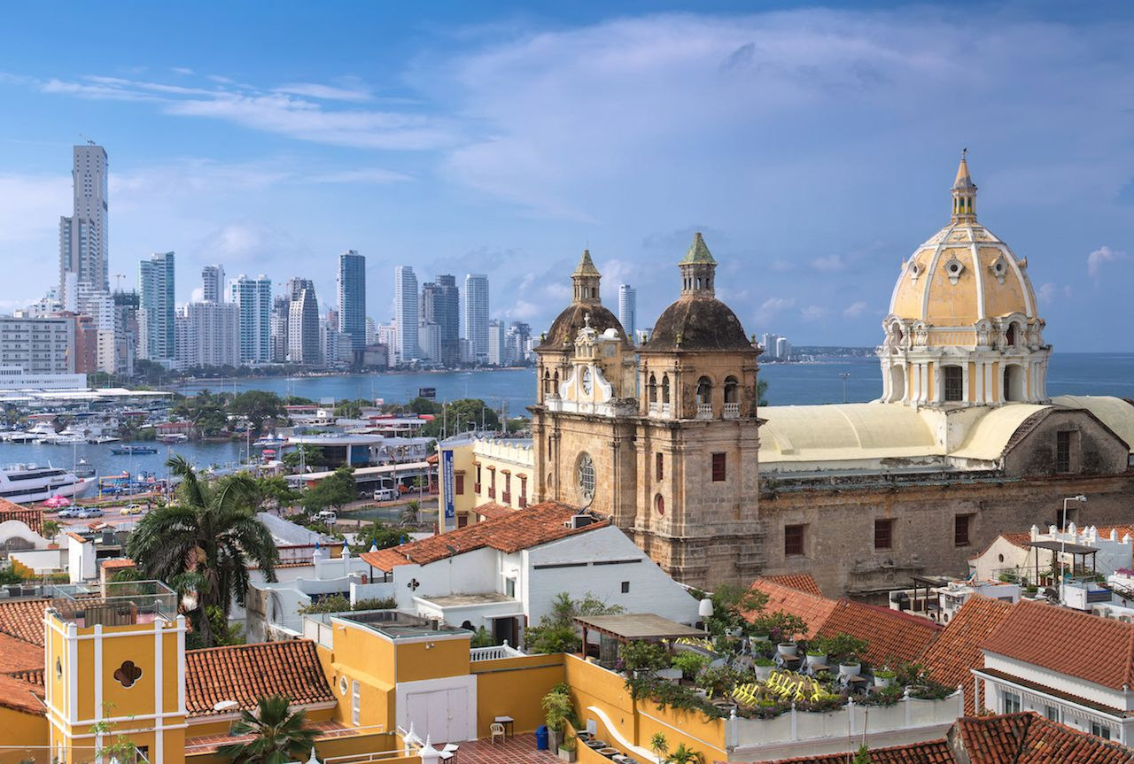Cartagena city view