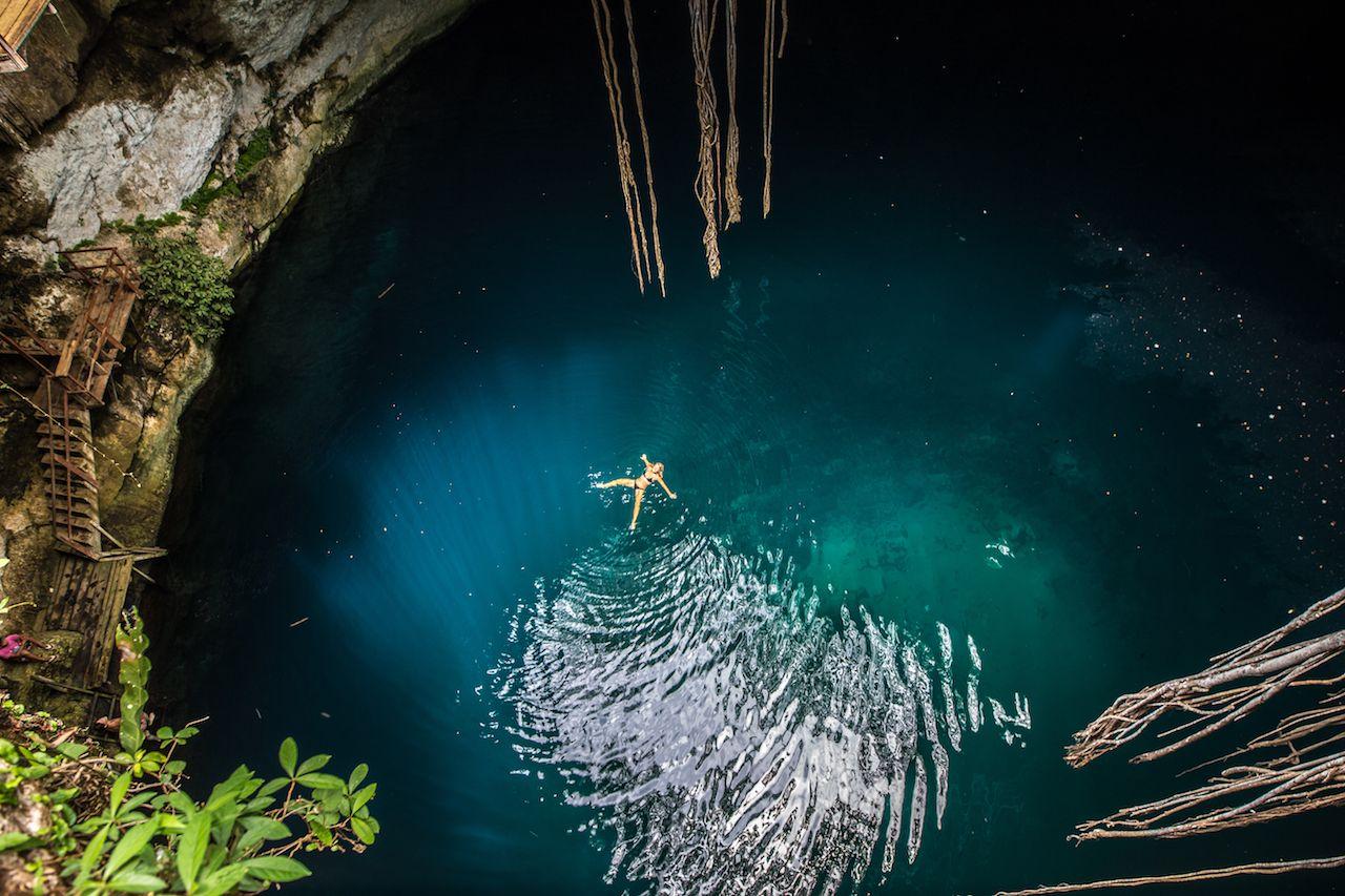 Cenote Mexico Yucatan