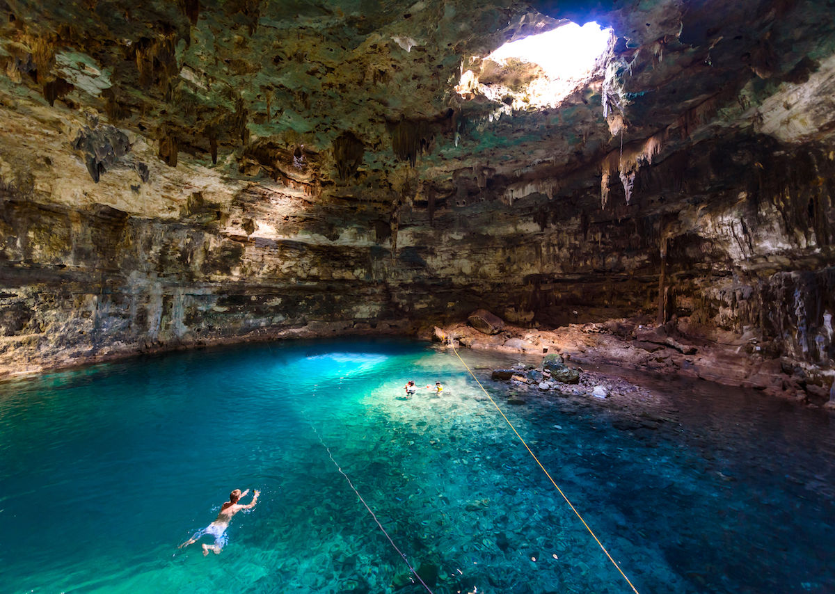 Best places to go wild swimming in Mexico\'s cenotes