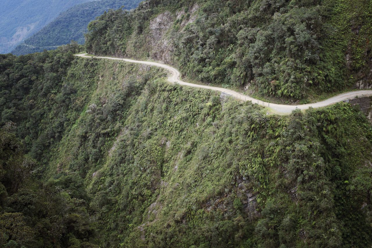 Death Road, North Yungas, Bolivia