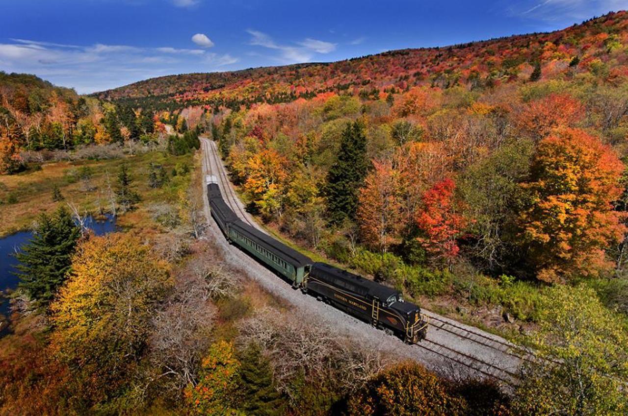 Durbin and Greenbrier Valley Railroad train
