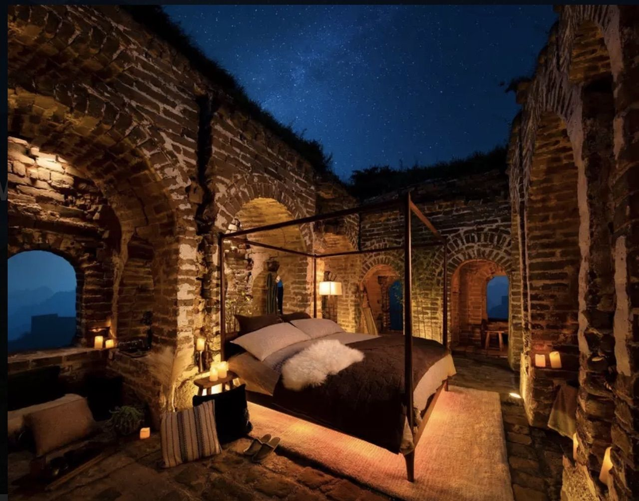 Great Wall glamping contest accommodation preview
