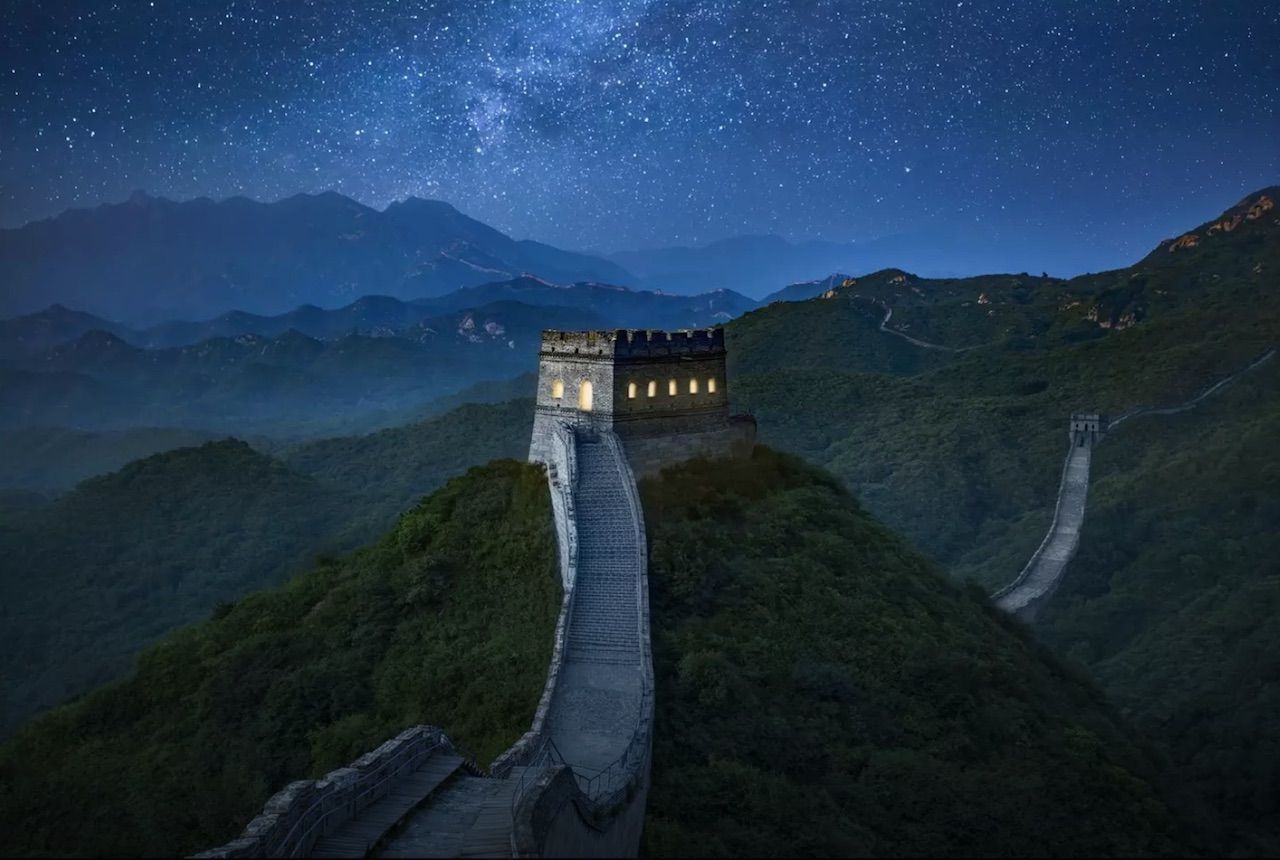 Great Wall of China - Airbnb contest photo