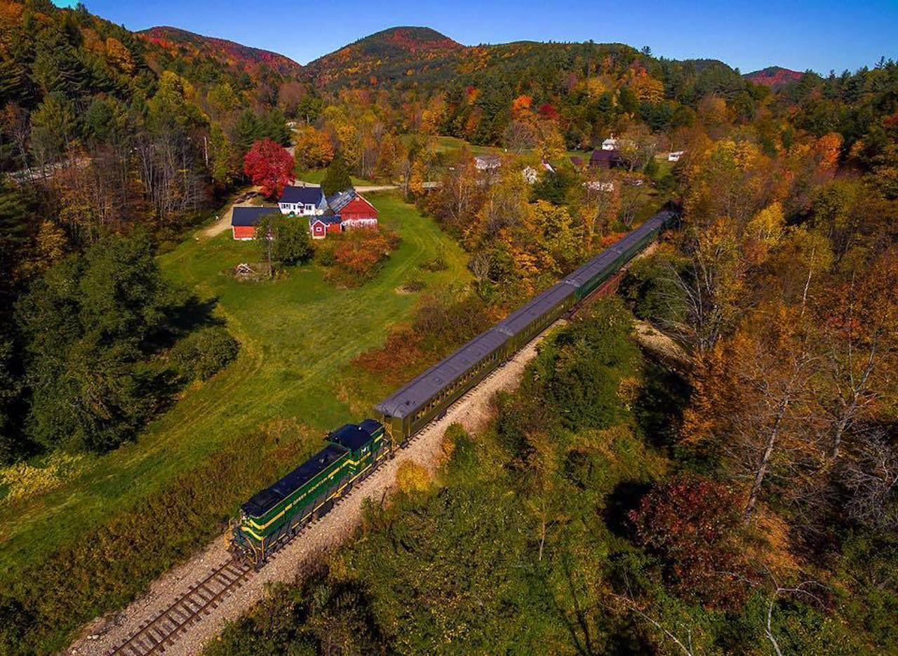 Green Mountain Railroad Passenger Services
