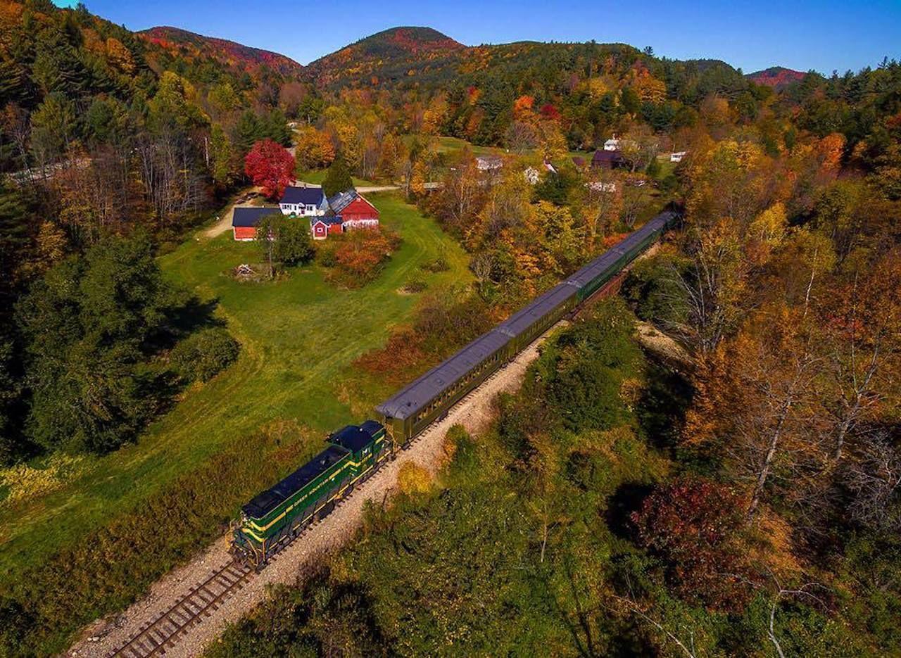 Green Mountain Railroad Passenger Services
