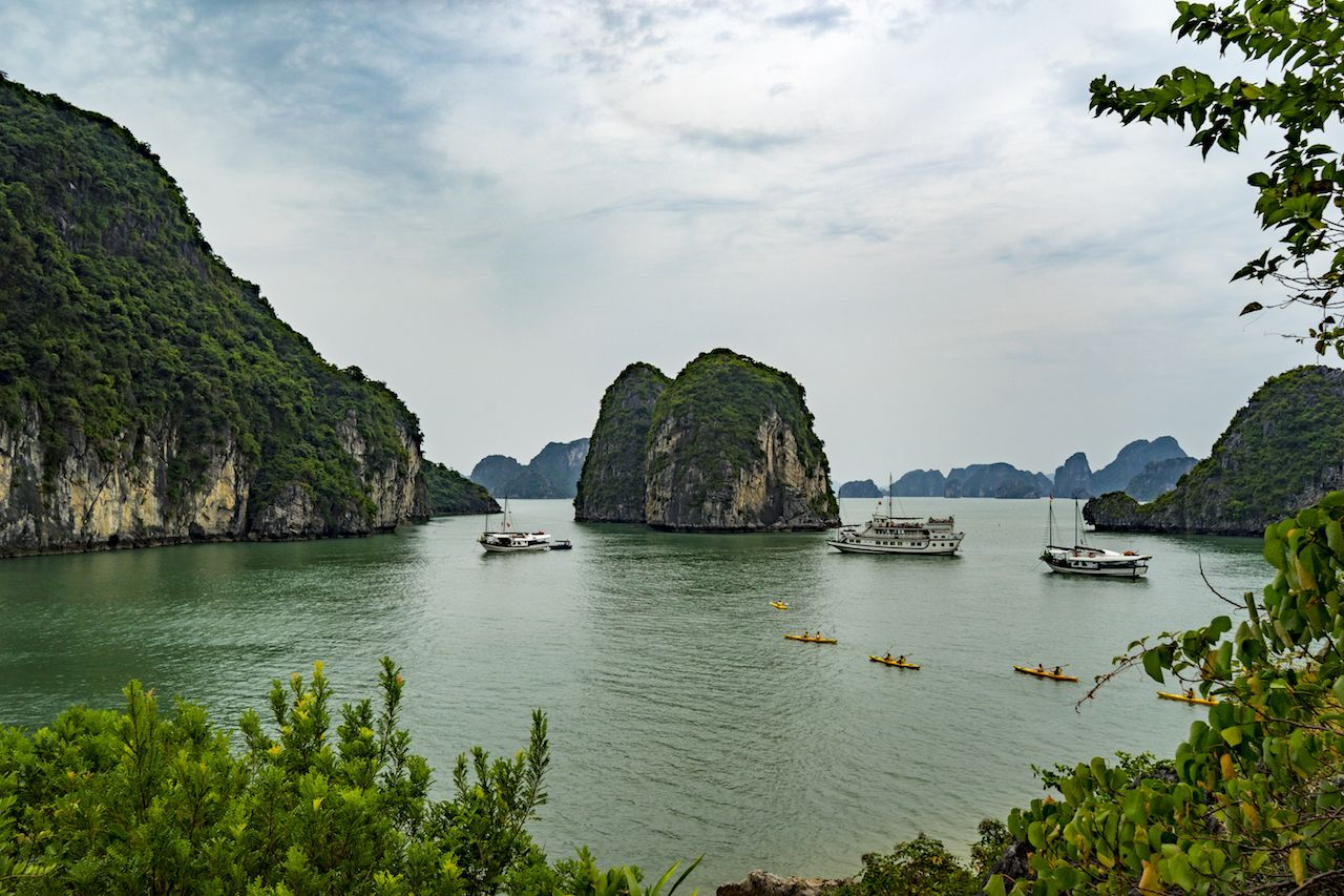 Halong Bay from Thien Cam Son Cave