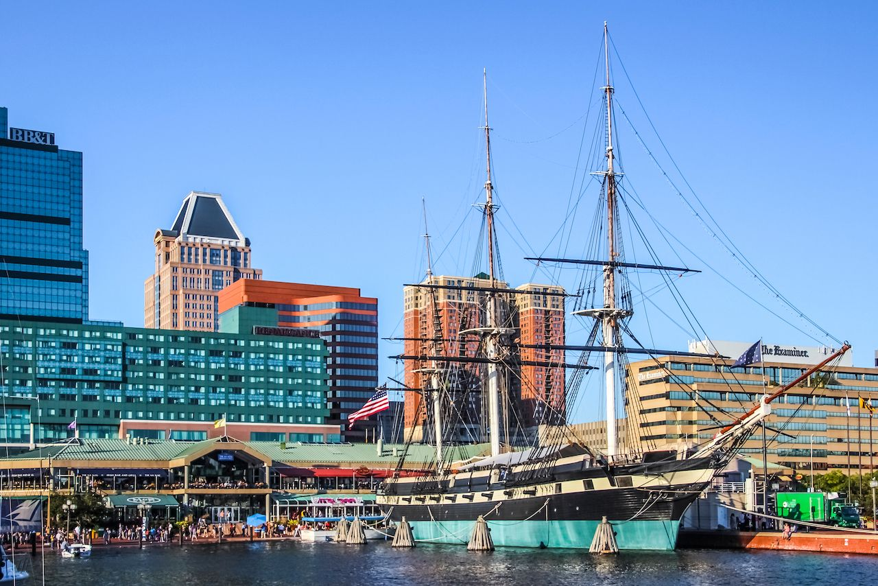 Harbor in Baltimore, Maryland