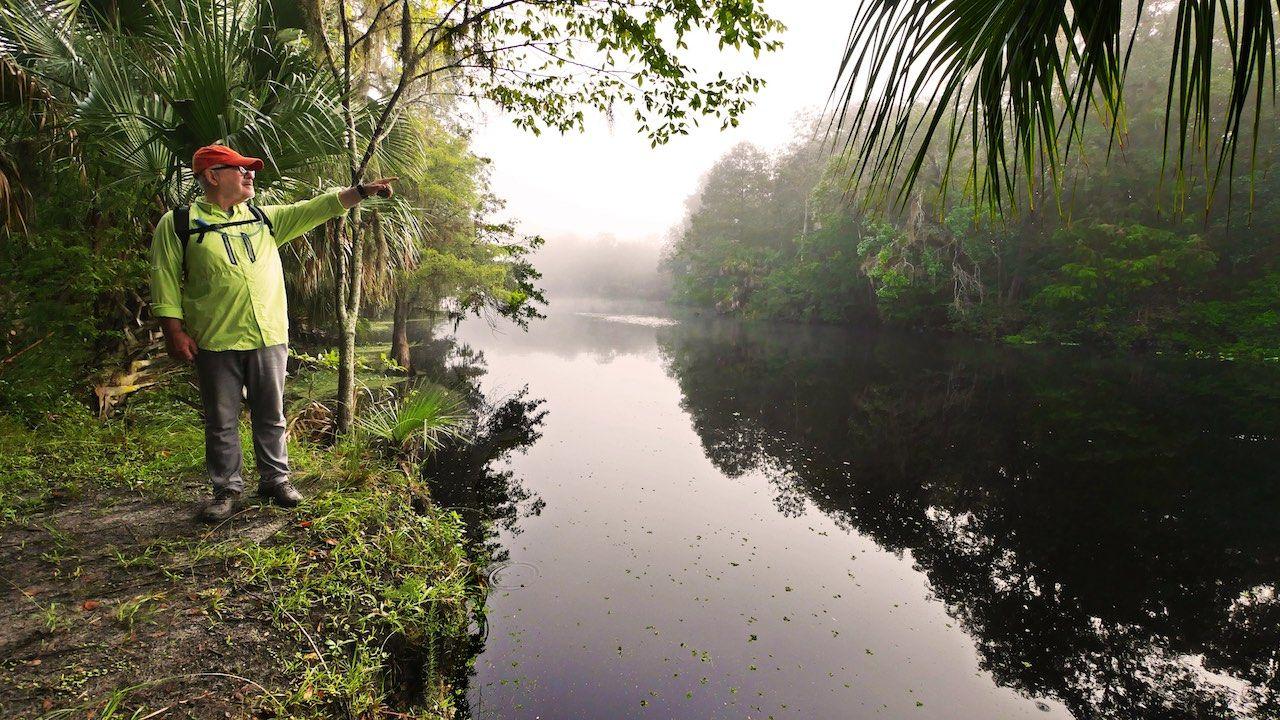 Hiking Crystal River Florida
