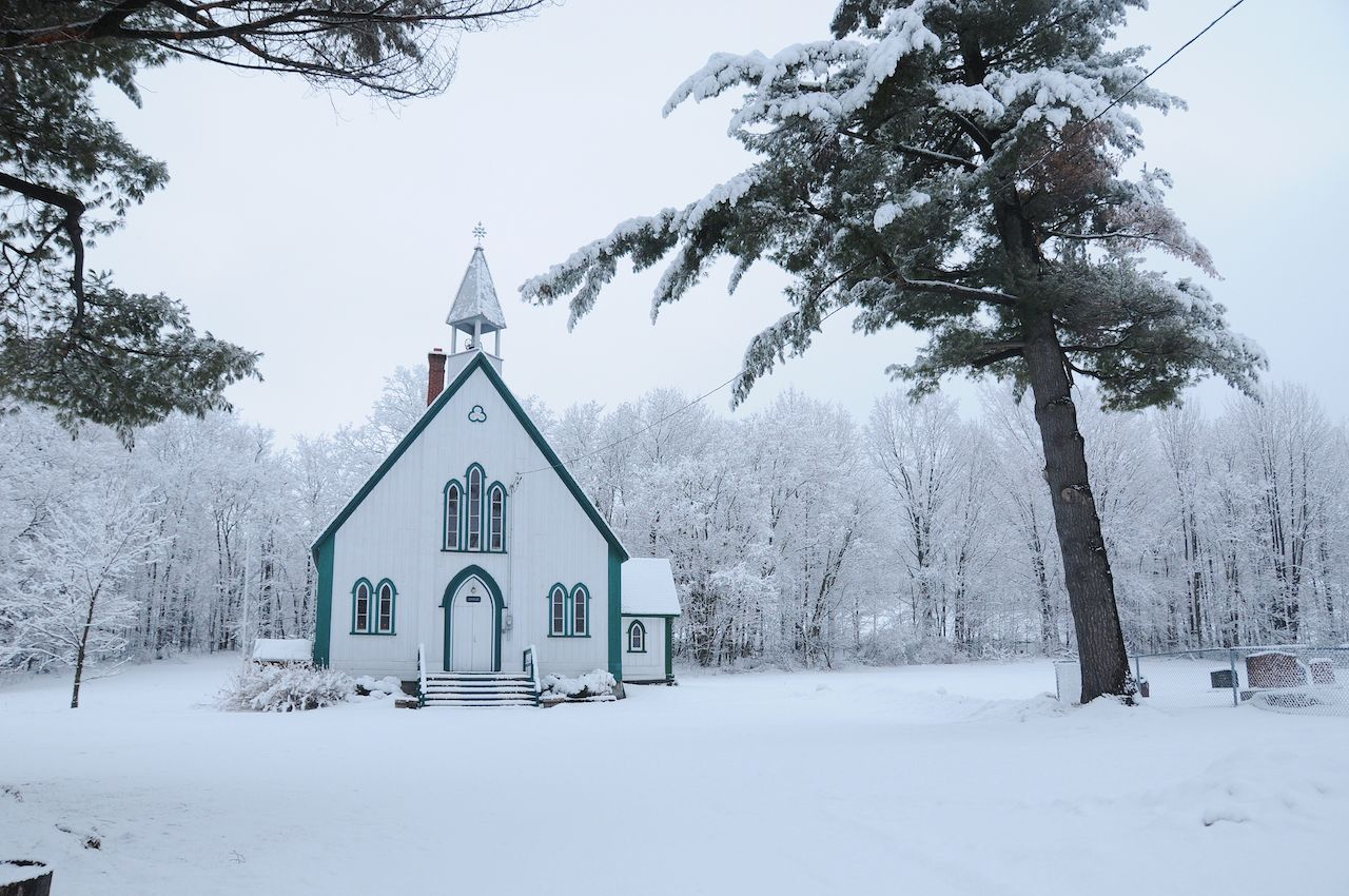 Holy Trinity, Iron Hill, Quebec, Canada