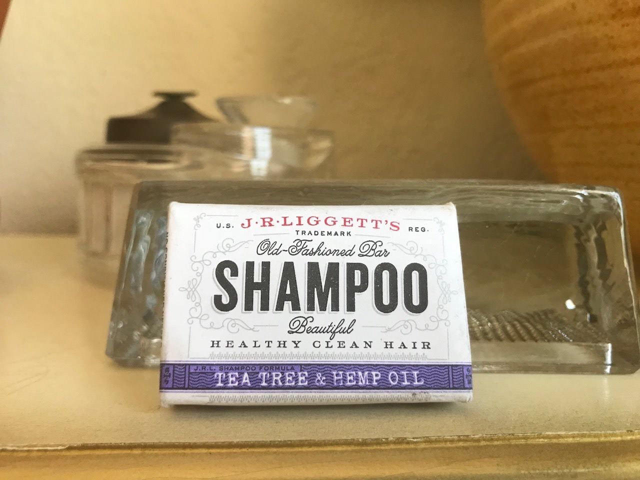 JRLiggets shampoo soap
