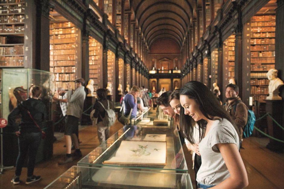 Trinity Library Dublin Ireland