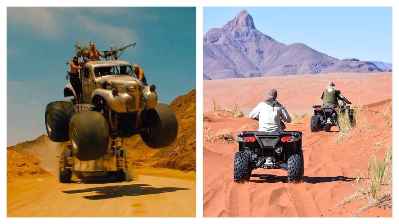 Mad Max Sossusvlei 4WDing