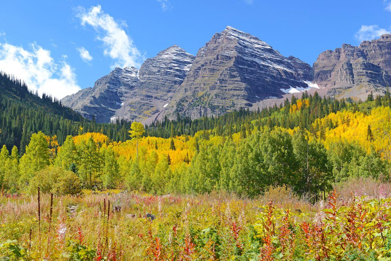 Maroon Bells, Rocky Mountains Colorado
