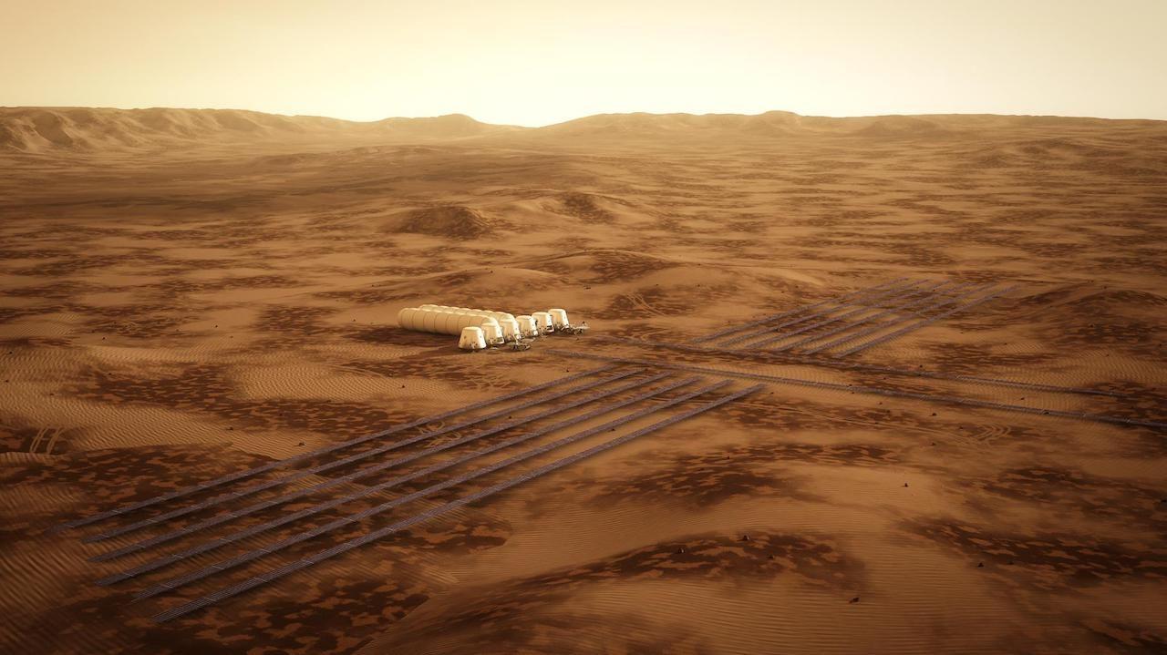 Mars One human settlement