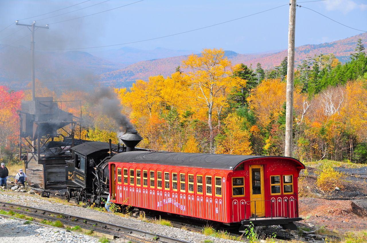 Mount Washington train