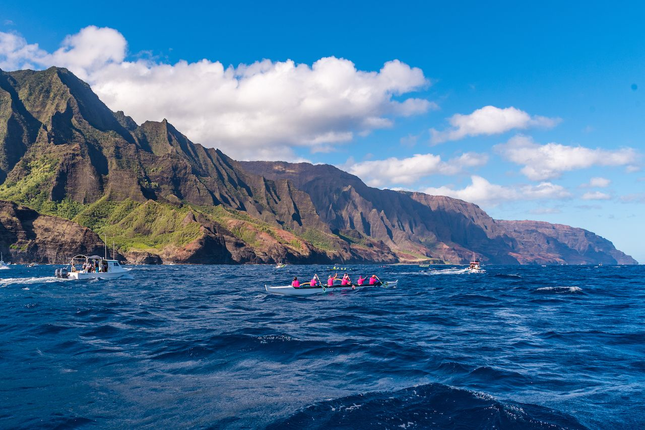 Na Pali Coast kayaking