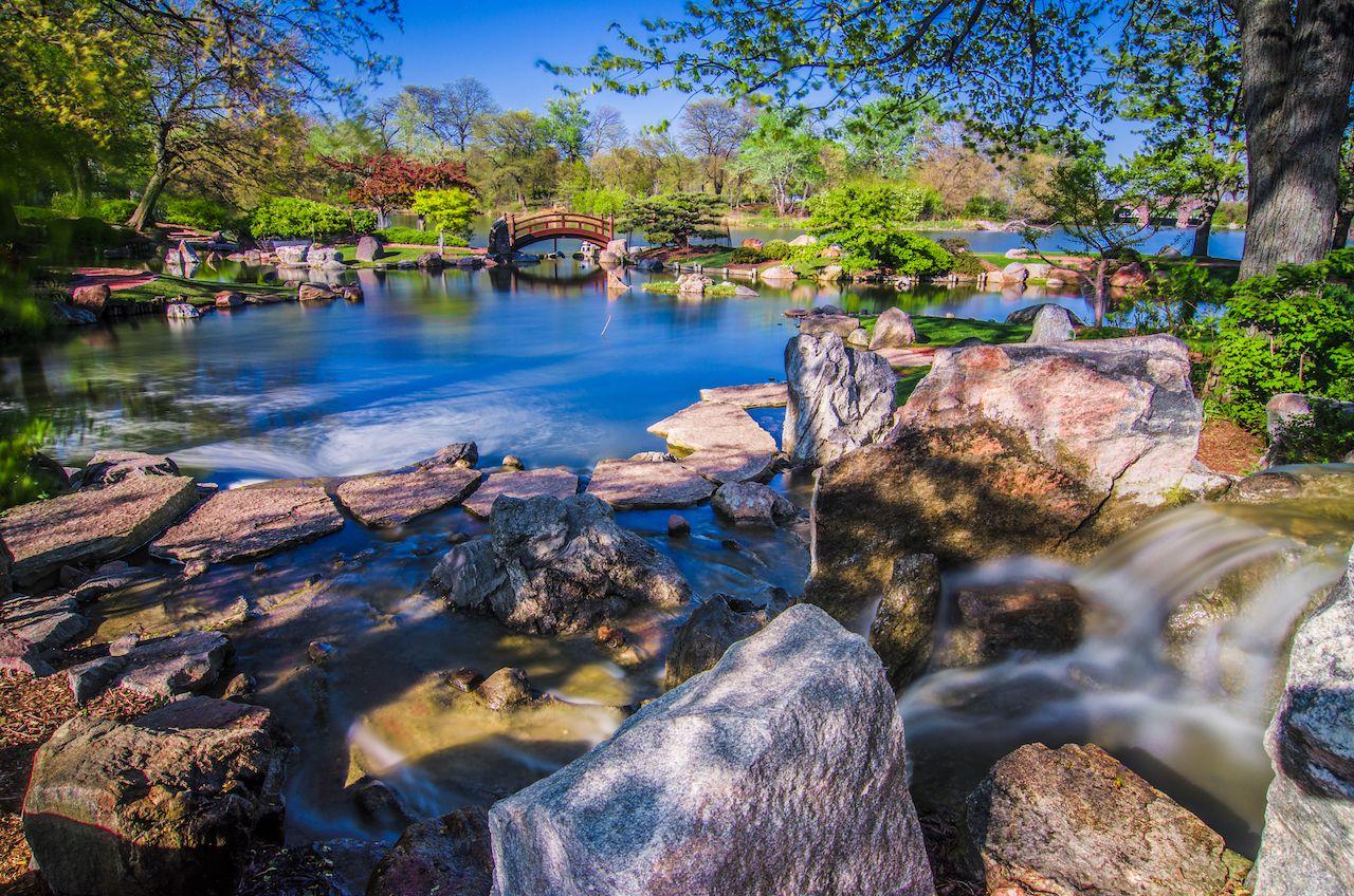 Osaka Japanese Garden Jackson Park Chicago