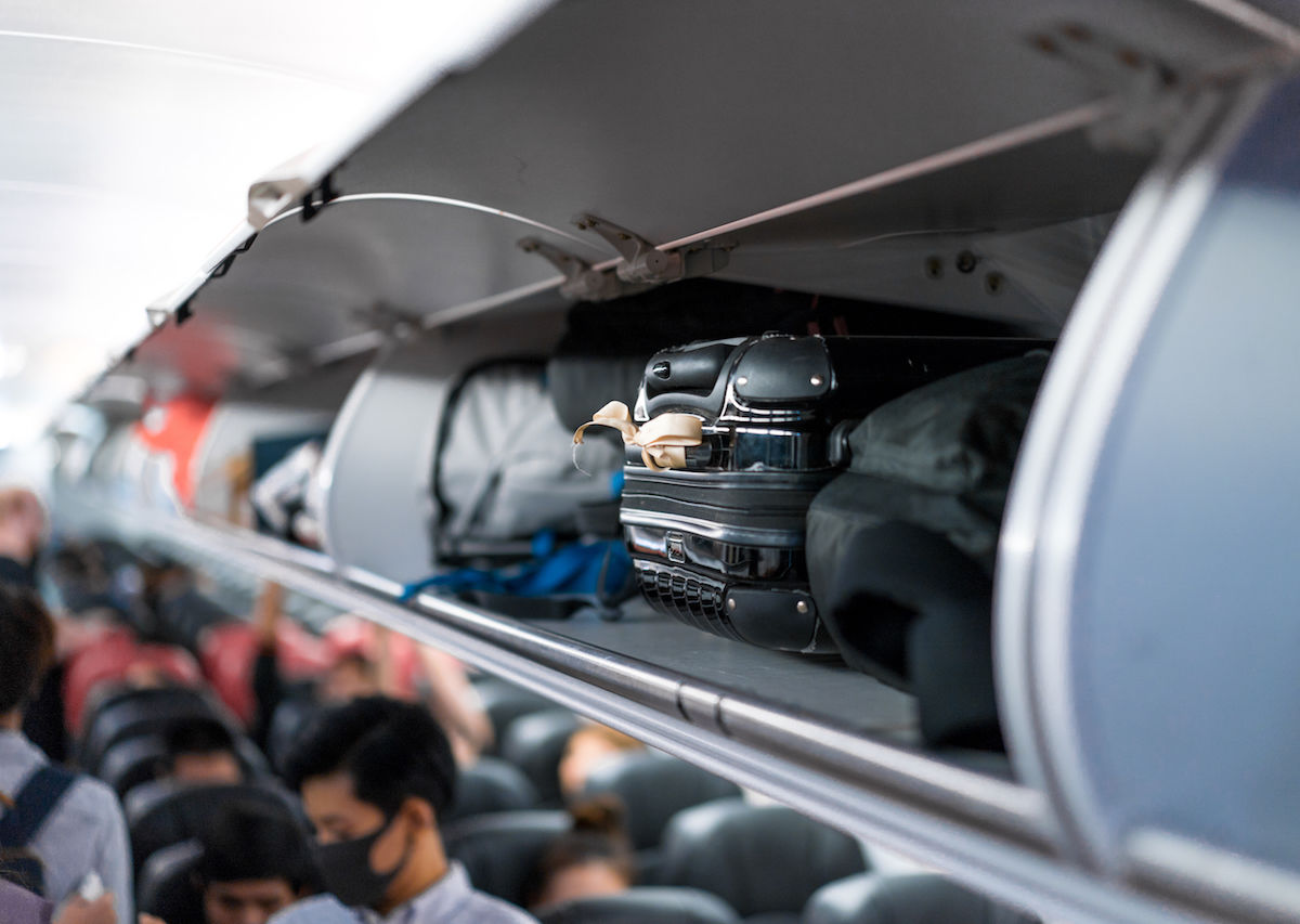 Overhead Baggage Targeted By Criminals