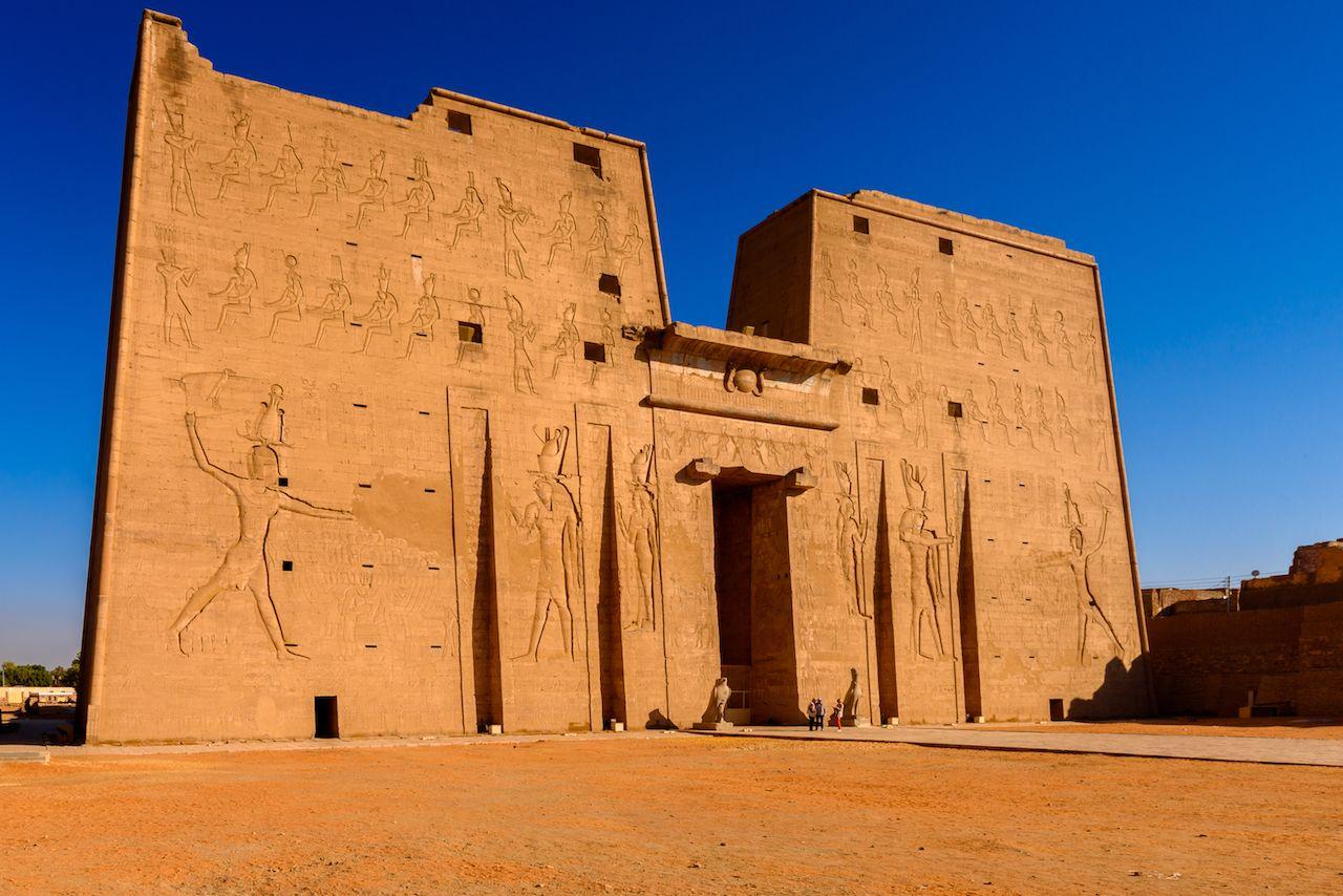 Ptolemaic Temple of Horus, Edfu, Egypt