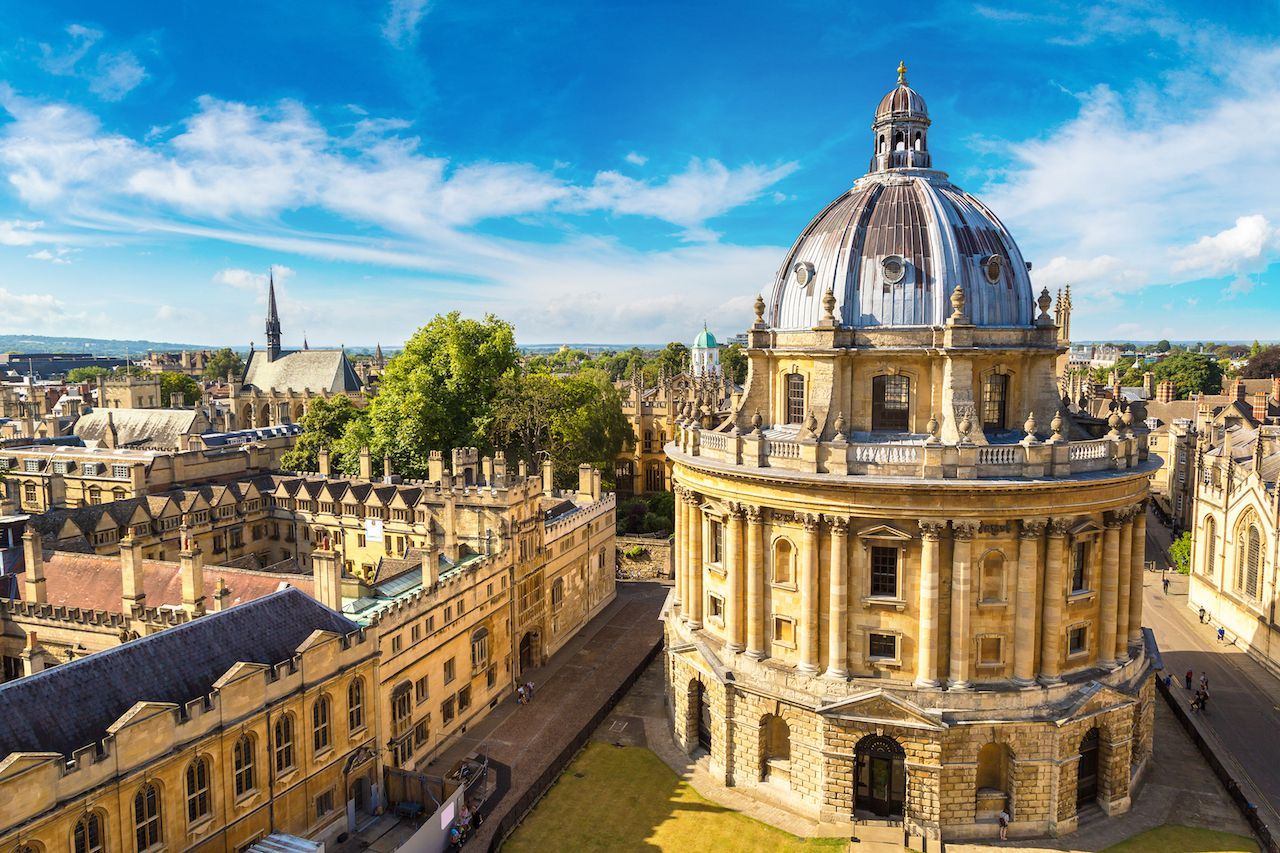 Radcliffe Camera, Bodleian Library, Oxford University