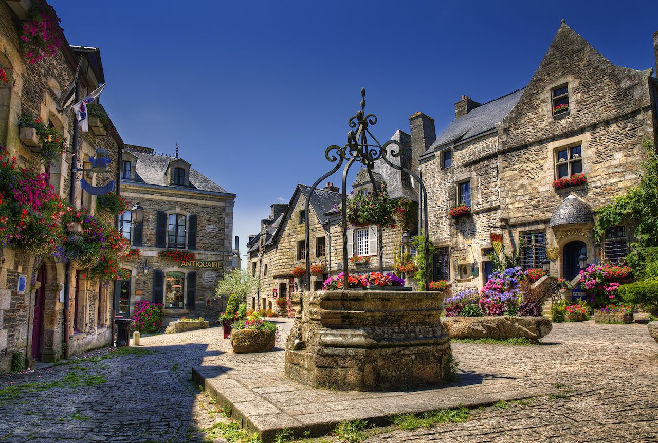 Rochefort en Terre, Brittany