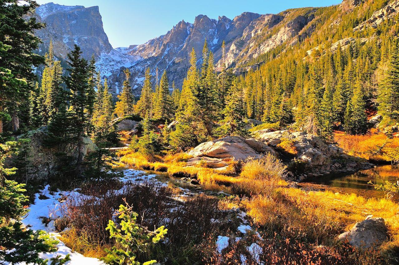 Rocky Mountain hikes for foliage