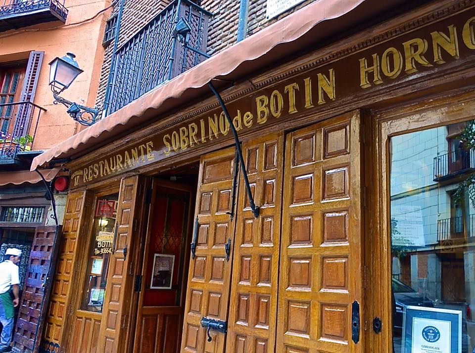 Sobrino de Botín, oldest restaurant in the world