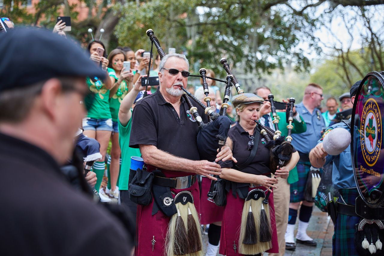 St. Patrick's Day in Savannah, Georgia
