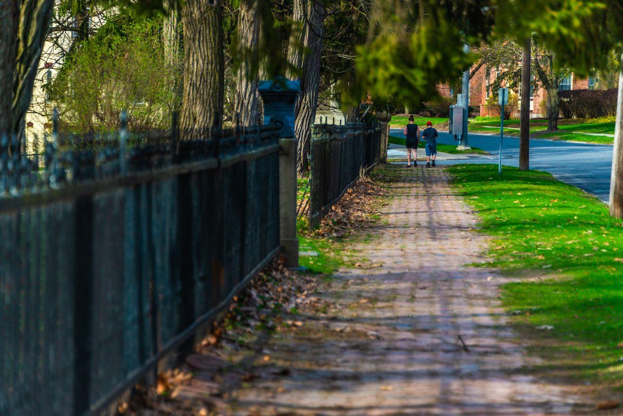 Strolling in Saratoga Springs, NY