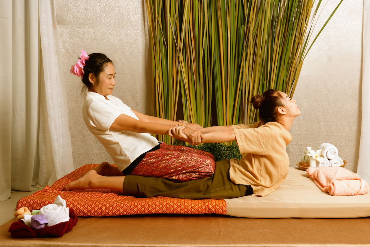 Thai massage technique